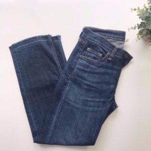 Rag & Bone | Crop Straight Leg Jeans Sz. 26